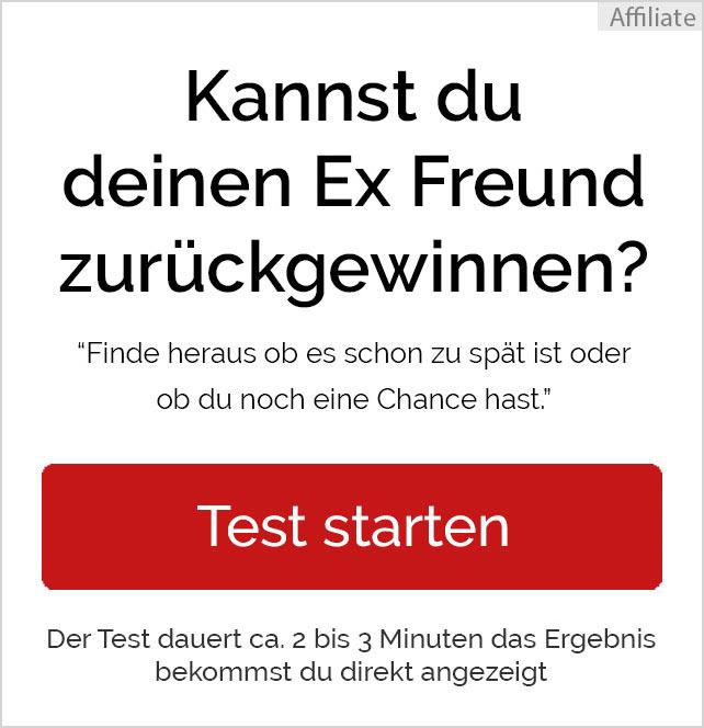 Ex Freund zurückgewinnen - Test